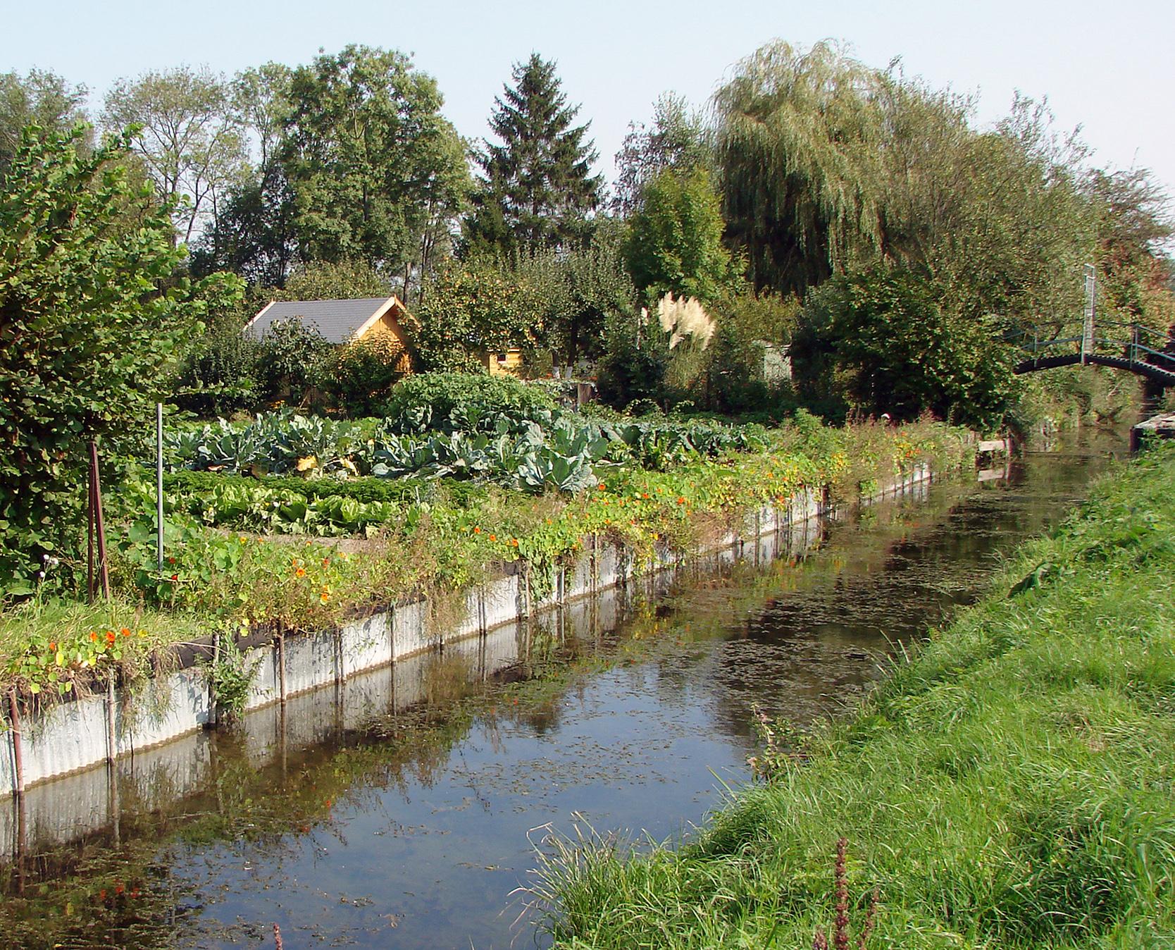 hebergement éco responsable à amiens, le Les Hortillonnages d'Amiens