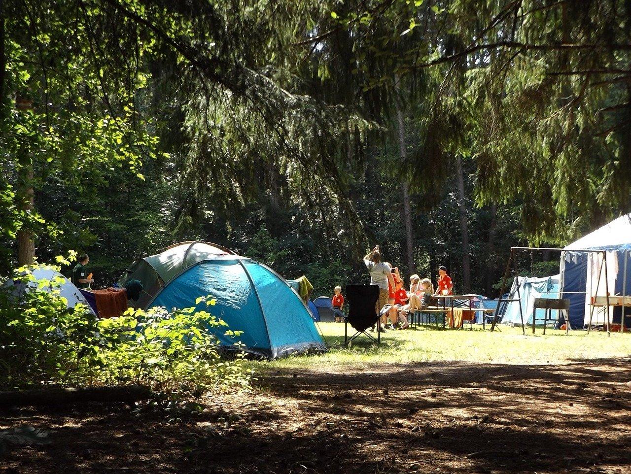 hebergement éco responsable à nimes, le Camping les pins