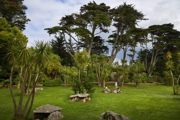 hebergement éco responsable à quimper, le Le jardin Georges Delaselle